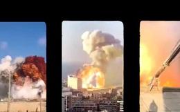 Hình ảnh vụ nổ kinh hoàng ở Beirut (Lebanon) qua 15 góc máy camera
