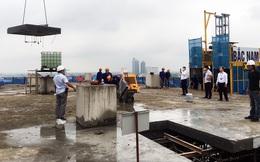 Sai phạm toà nhà 8B Lê Trực: Cắt, dỡ hàng loạt tấm bê tông tại tầng 18