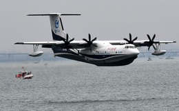 Trung Quốc sẽ dùng thủy phi cơ lớn nhất thế giới vào mục đích quân sự?
