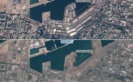 Ảnh vệ tinh trước và sau vụ nổ khủng khiếp chưa từng thấy ở Liban