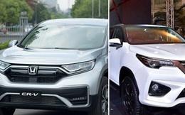 Cuộc đua của Toyota Fortuner và Honda CR-V: Cùng đẩy mạnh lắp ráp, ưu đãi hàng chục triệu đồng