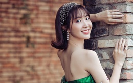 Jang Mi khoe lưng trần gợi cảm