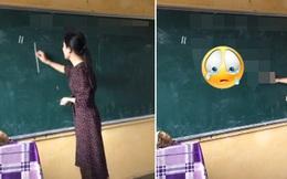 Kết thúc buổi học, cô giáo viết một dòng chữ lên bảng, nội dung có gì mà khiến học sinh sững sờ, có em lấy tay quẹt vội nước mắt?