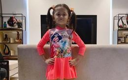 """Mới 5 tuổi nhưng con gái Trang Trần đã tạo dáng cực đỉnh với giày cao gót, đến mẹ còn phải đắc ý: """"Hổ phụ sinh hổ tử"""""""