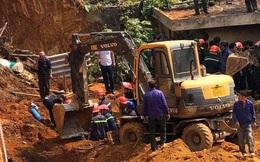 Vụ sạt lở đất công trình đang thi công ở Phú Thọ: Công tác cứu hộ đã hoàn tất, 4 người tử vong