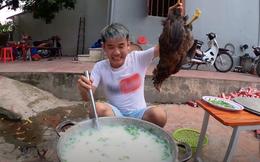 Bà Tân Vlog lên tiếng sau clip con trai con nấu cháo gà nguyên lông: Nếu biết Hưng làm như thế thì tôi sẽ ngăn cản