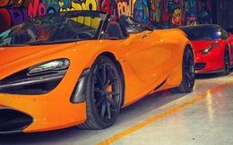 McLaren 720S Spider thứ 7 về Việt Nam cập bến Sài Gòn, nằm trong garaga toàn siêu xe gây chú ý