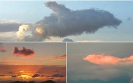 Chùm ảnh: Những đám mây tạo hình độc đáo trên bầu trời