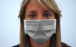 Đã có loại khẩu trang có thể thay đổi nhiệt độ khi phát hiện người đeo bị sốt