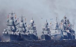 Nga điều lực lượng hùng hậu chặn tàu NATO - 15 tàu chiến Nga sắp làm điều gì ngoài khơi Syria?