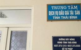 Thêm cán bộ của Trung tâm Dịch vụ đấu giá Thái Bình bị bắt giam vì tội tham ô