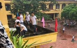 Phòng GD&ĐT ở Bắc Giang lên tiếng việc học sinh bị cô giáo bắt ra ban công tầng 2 nhặt rác