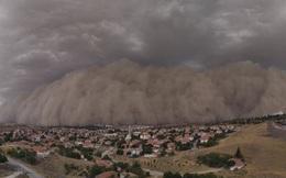 """Khoảnh khắc thủ đô của Thổ Nhĩ Kỳ bị """"nuốt chửng"""" bởi bão cát"""