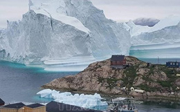 Sông băng lớn nhất tại Greenland đang tan chảy
