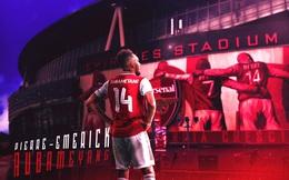 CHÍNH THỨC: Arsenal gia hạn hợp đồng với Aubameyang