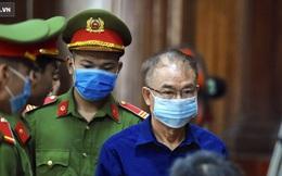 [Ảnh] Xét xử ông Nguyễn Thành Tài: Bị cáo đi cửa sau vào phòng xử, điều xe cứu hoả, cứu thương tới toà