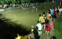 Ông chở 3 cháu đi thăm đồng rơi xuống kênh ở Vĩnh Phúc: Tìm thấy thi thể người ông