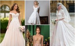 Chọn váy cưới yêu thích nhất để khám phá bản thân: Bạn là cô dâu đảm hay được chồng nể phục?
