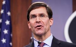 Bộ trưởng Quốc phòng Esper tự tin hải quân Mỹ mạnh hơn Trung Quốc