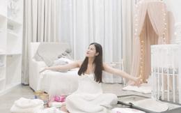 """Đông Nhi hé lộ phòng tiểu công chúa siêu xinh, em bé ngậm thìa vàng chưa chào đời đã có """"cơ ngơi"""" riêng không vừa!"""