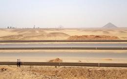 Ai Cập gây tranh cãi khi xây đường cao tốc xuyên qua cao nguyên kim tự tháp
