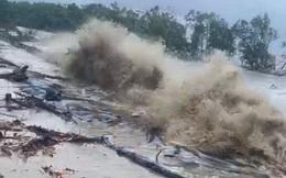Nguy cơ cao vỡ đê ở Cà Mau do hoàn lưu bão số 5