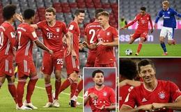 Bayern Munich khởi đầu Bundesliga bằng màn hủy diệt Schalke 8-0