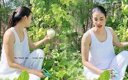 """Phạm Hương lộ body tăng cân thấy rõ: Người ta càng gầy càng đẹp, """"mẹ bỉm"""" có da có thịt lại càng xinh hơn mới hay"""