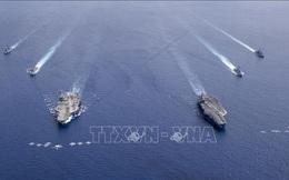 Mỹ điều động tàu sân bay tới vùng Vịnh giữa lúc căng thẳng với Iran