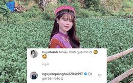"""Quang Hải lần đầu tương tác với Huỳnh Anh trên MXH sau lùm xùm chia tay: Không có """"lời hay ý ngọt"""" nào cả"""