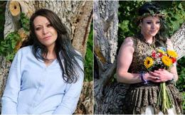 """Bỏ mặc bạn trai cùng 2 con nhỏ, người phụ nữ quyết định """"kết hôn"""" với... cây"""
