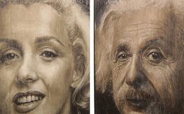 Những bức tranh chân dung kỳ lạ khiến người xem ngỡ ngàng vì có nhiều khuôn mặt từ các góc nhìn khác nhau