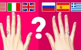 Đeo nhẫn cưới tay trái hay tay phải mới đúng? Hóa ra có những ý nghĩa bất ngờ đằng sau mà chúng ta ít khi để ý đến
