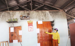 Phú Yên: 4 người trong gia đình bỏng nặng sau vụ cháy lúc nửa đêm