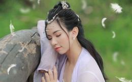 Diễn viên Mê Cung hóa thân Hằng Nga xinh đẹp