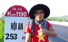 Kinh doanh lỗ gần 1 tỷ đồng, chàng trai Bắc Giang đi bộ xuyên Việt 65 ngày bỏ lại tất cả sau lưng