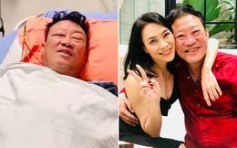 Nhạc sĩ Lê Quang nhập viện mổ nghẽn mạch máu ở đầu