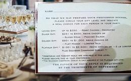 Phân loại khách dự đám cưới dựa trên giá trị của quà mang tới, cặp đôi bị dân mạng ném đá tơi tả và lời giải thích sau đó