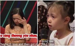Bạn muốn hẹn hò: Đi cùng mẹ, cô bé 5 tuổi nói một câu khiến cả trường quay bỗng im lặng