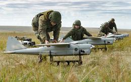 Lần đầu tiên quân đội Nga diễn tập quân sự với máy bay không người lái kiểu 'bầy đàn'