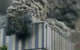 Cháy nổ, lửa bốc ngùn ngụt tại trung tâm thí nghiệm của Huawei ở Trung Quốc