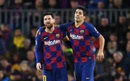 Messi viết tâm thư chia tay Suarez và không quên chỉ trích Barcelona