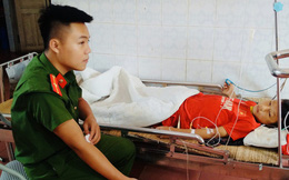 Chiến sỹ công an hiến máu trực tiếp cứu học sinh người dân tộc Mông
