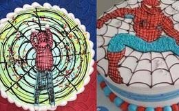 Cười ra nước mắt với chiếc bánh kem Spider-man phiên bản lỗi, nhìn tới nhìn lui vẫn không thấy giống bản gốc ở điểm nào