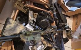 Thu giữ hàng trăm khẩu súng nhựa có tính sát thương cao