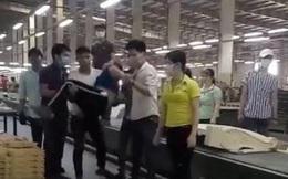 Nam thanh niên bỏ trốn sau khi đánh nữ đồng nghiệp ngất xỉu