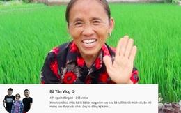 Bà Tân Vlog chính thức đạt 4 triệu lượt theo dõi, xác nhận kỷ lục khó ai sánh bằng