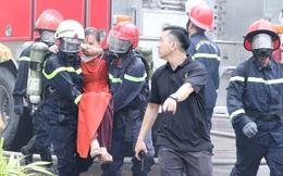 Diễn tập giải cứu 200 người trong đám cháy nhà hàng tiệc cưới ở Sài Gòn