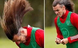 Ngôi sao Gareth Bale khiến các fan choáng váng khi cởi bỏ sợi dây buộc tóc