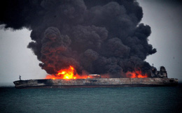 Cháy tàu chở 200.000 tấn dầu thô ở ngoài khơi Sri Lanka